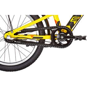s'cool XXlite street 18 3-S - Vélo enfant - alloy jaune/noir